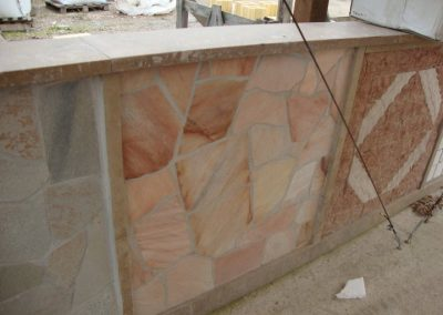 Quarzite rosa - I materiali di FAPA Edili