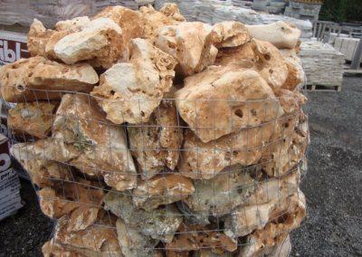 Roccette di Trani ornamentali - i materiali di FAPA Edili