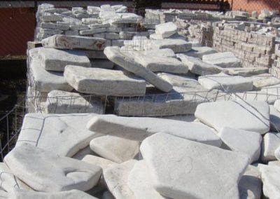 Scorza di Trani anticata - i materiali di FAPA Edili